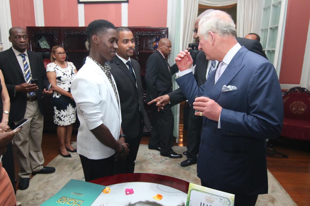 Meeting Royalty
