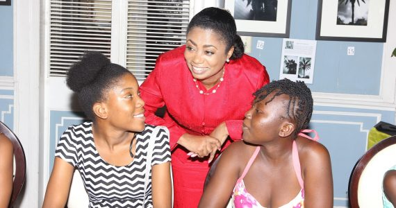 Her-Excellency-Lady-Williams-conversing-with-residents-of-the-Sunshine-Home-for-Girls