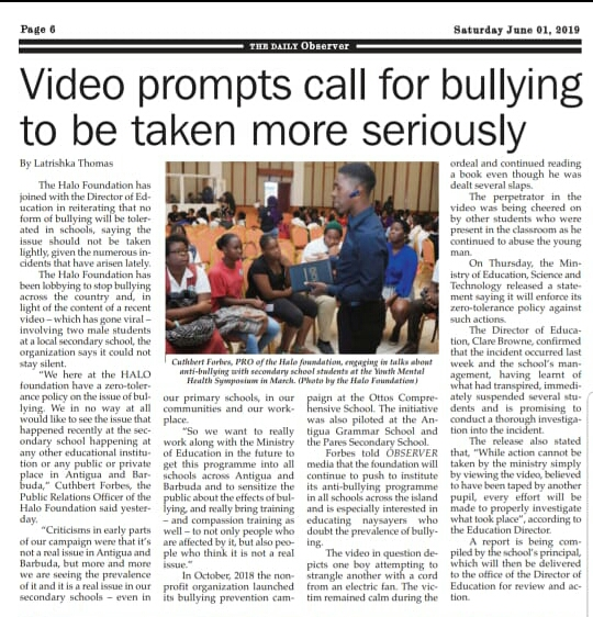 Halo Foundation continues the fight against bullying