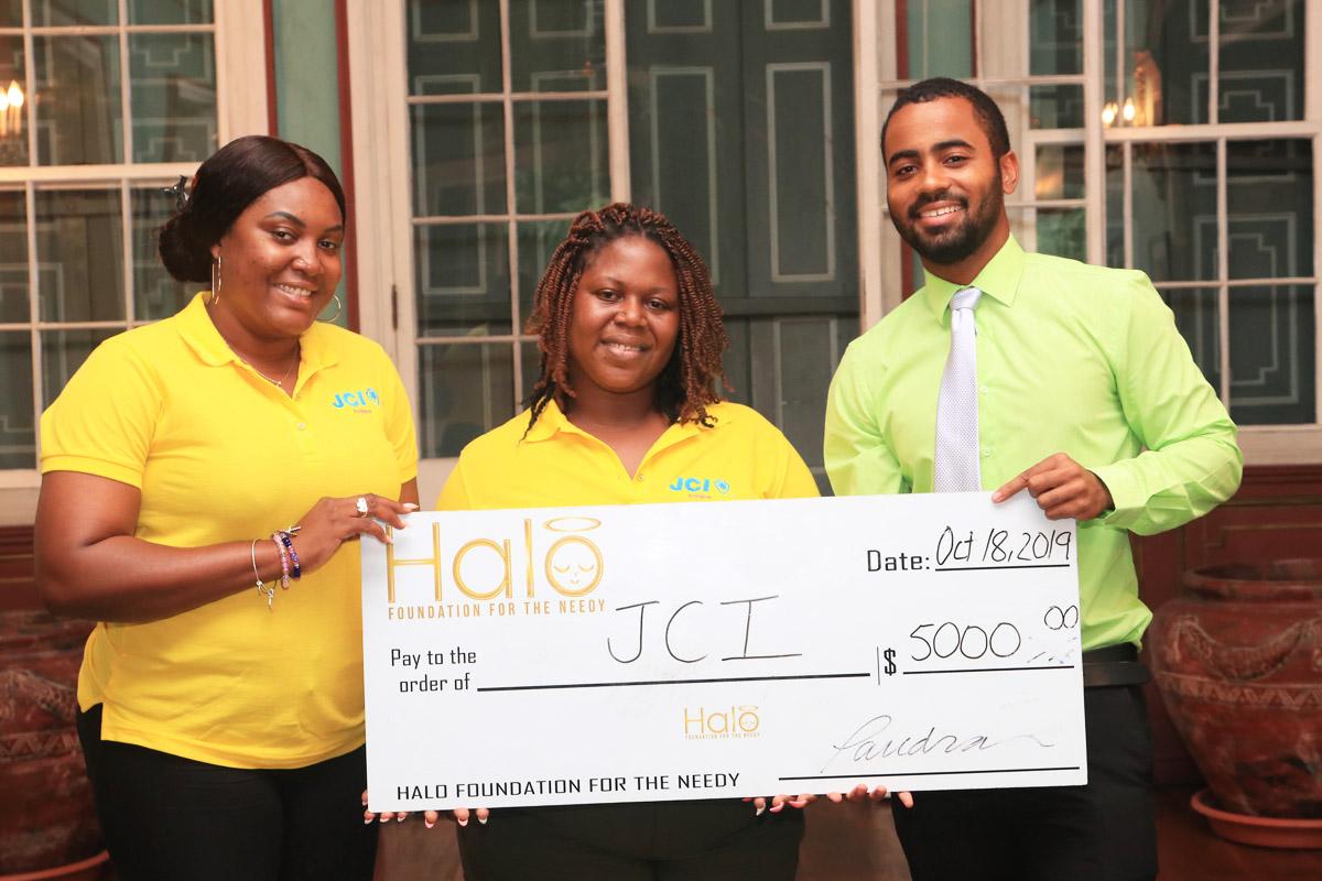 JCI receives Halo donation