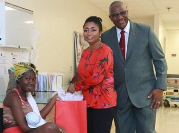 MSJMC welcomes annual visit from GG and Lady Williams