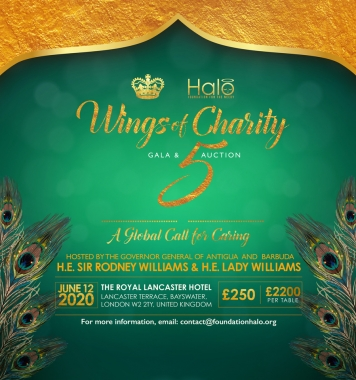 Wings of Charity 5, London (Table of 10 Ticket)
