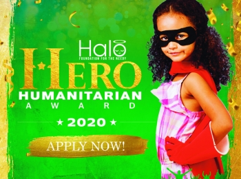 Halo Hero Humanitarian Award 2020