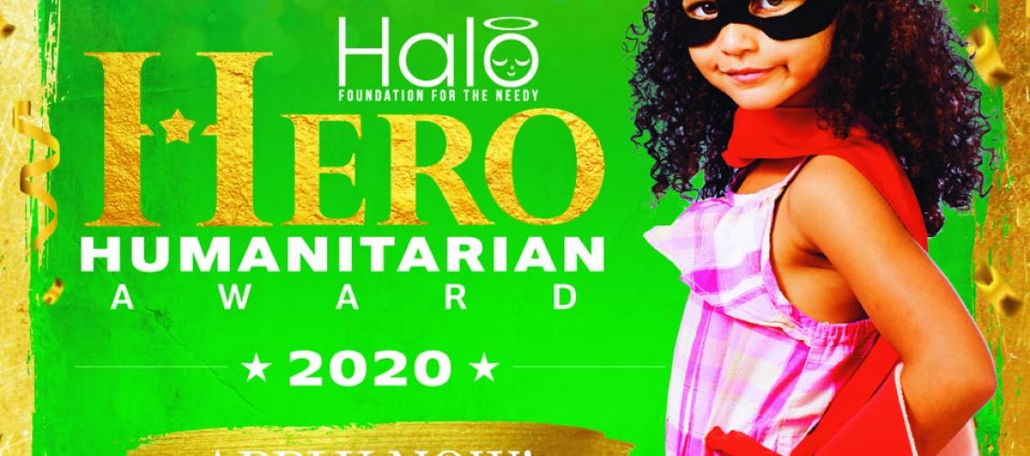 Halo Hero Humanitarian Award 2020