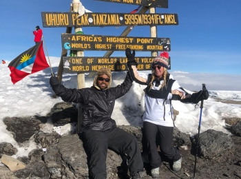 Team Kilimanjaro successfully climbs to the top