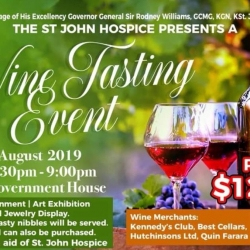 The St. John Hospice presents Wine Tasting