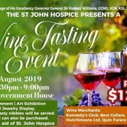 The St. John Hospice presents Wine Tasting