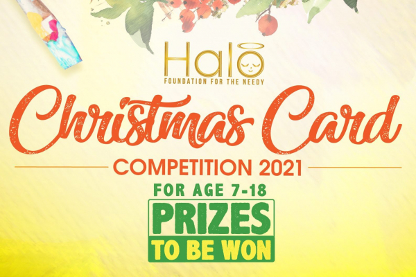 Halo Christmas Card Competition 2021