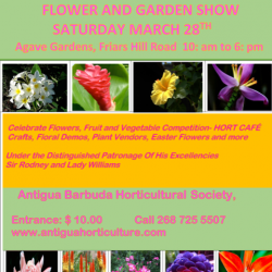 Antigua Barbuda Horticultural Society presents the 2020 Flower and Garden Show