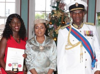 Anti-bullying activist awarded for humanitarian service