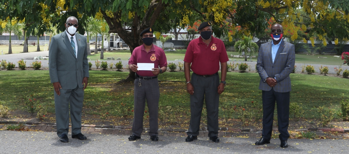 First Support Cheques Handed Over To Local Charities