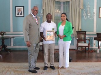 Antigua Grammars Tops Halo Christmas Art Competition
