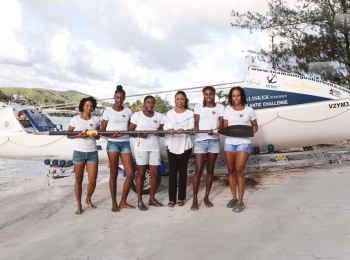 Lady Williams is Proud Patron of Team Antigua Island Girls