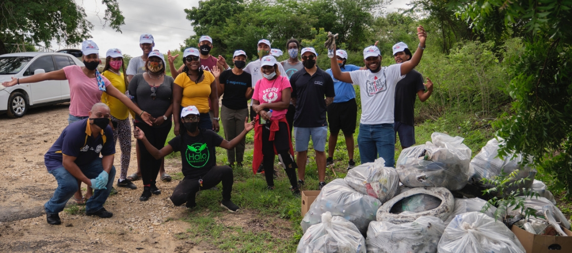 Halo youth clean up project kicks off