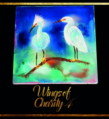 Antiguan Egret – Painting