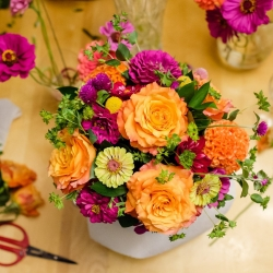 ABHS presents Flower Arranging Classes