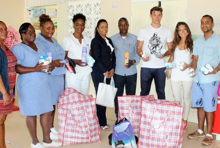Halo Foundation's Special Visit to Care Project
