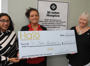 Supports St. John Hospice