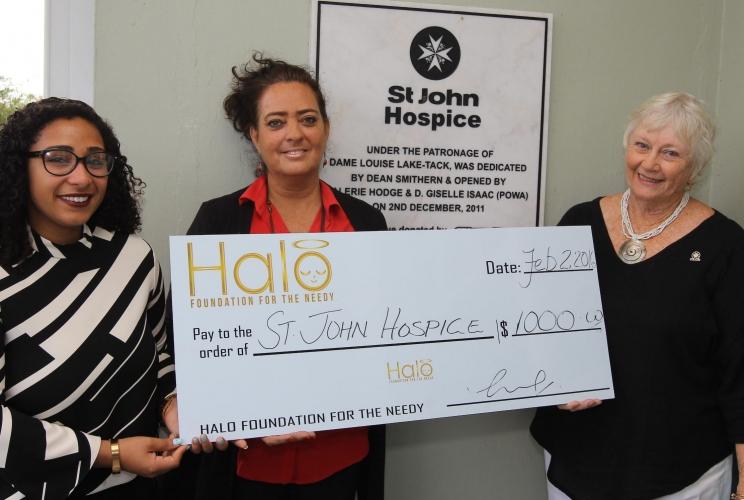 Halo Foundation' Supports St. John Hospice