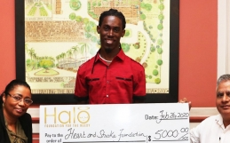 Heart and Stroke Foundation receives help from Halo