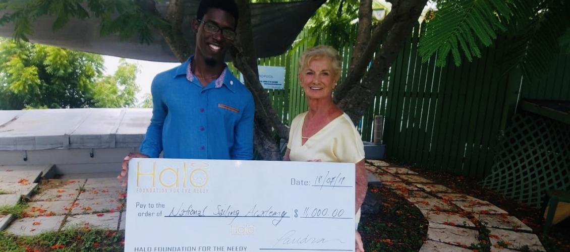 Halo initiates Barbuda Sailing Camp