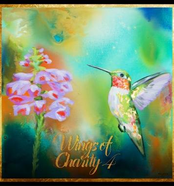 Humming Bird – Painting