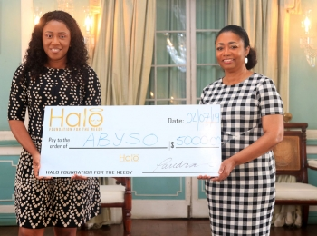 HALO DONATES TO ABYSO In celebration of 70th anniversary of the Commonwealth