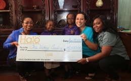 Halo donates $15,000 to Victory Centre