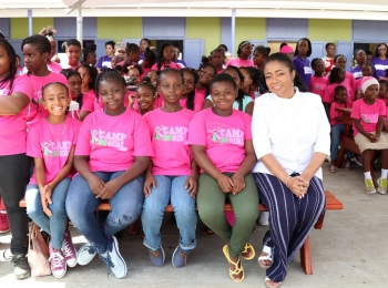 CAMP #GOGIRL OFF WITH A BANG