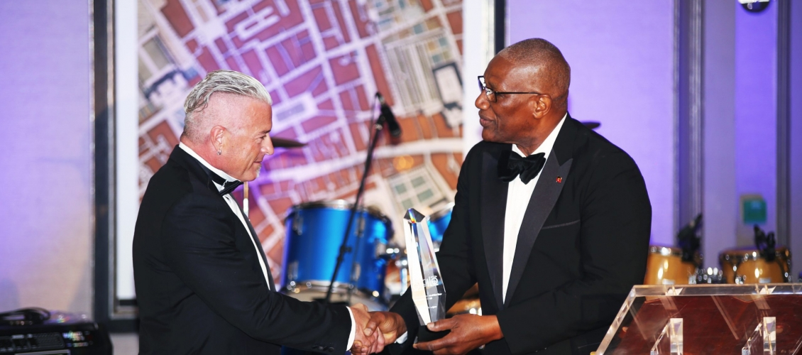 Ambassador Calvin Ayre Awarded For Philanthropy