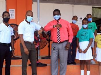 Halo donates fans to TN Kirnon School