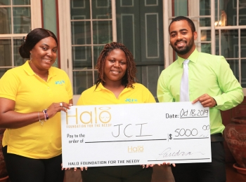 JCI receives Halo donation