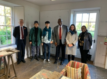 Halo Foundation and Royal Drawing School offer training for local art teachers