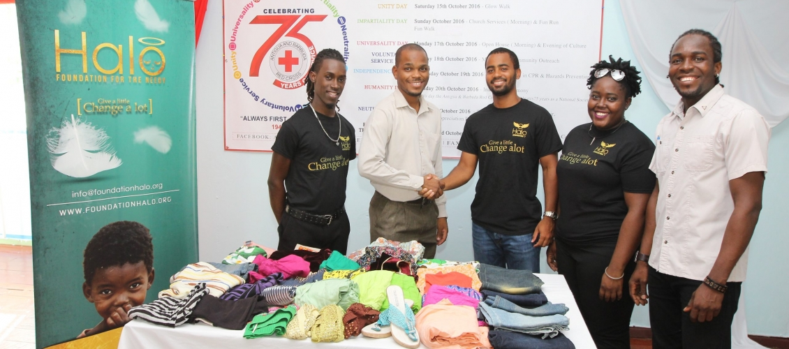 Generation Y Makes Donation to Red Cross