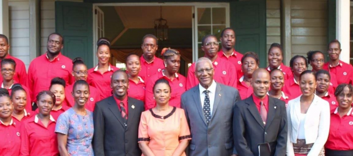 Red Cross Induction Ceremony