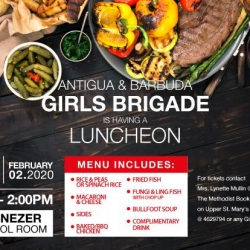 Antigua Barbuda Girls Brigade presents their Luncheon