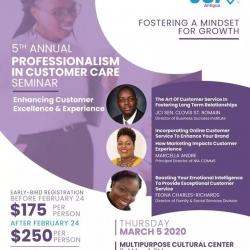 JCI Presents 5th Annual Professionalism in Customer Care Seminar