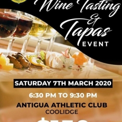 Lions Club presents Wine Tasting and Tapas