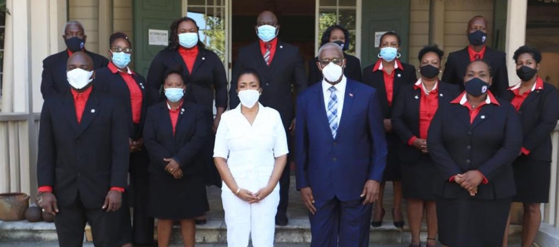 Antigua and Barbuda Red Cross Induction