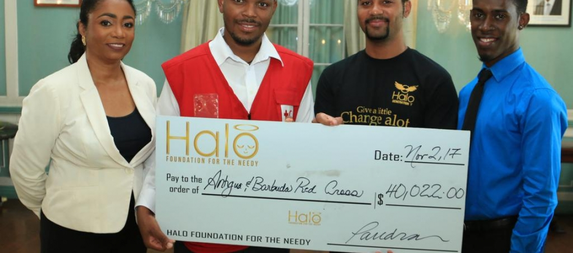 Halo Youth Donate to Red Cross for Barbuda Relief