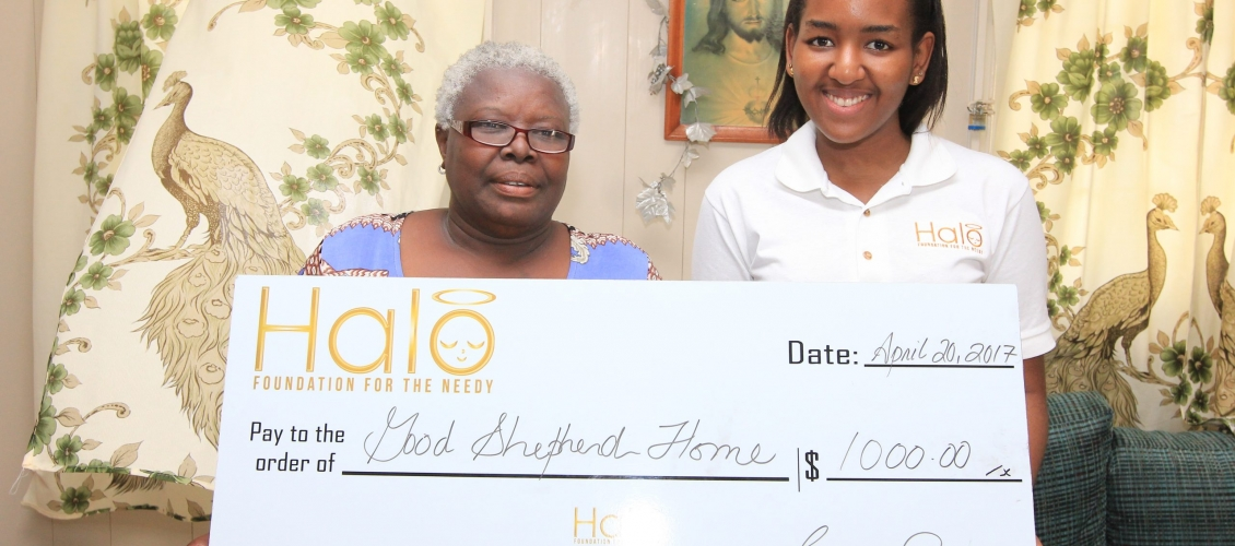 HALO YOUTH DONATES TO GIRLS' HOMES
