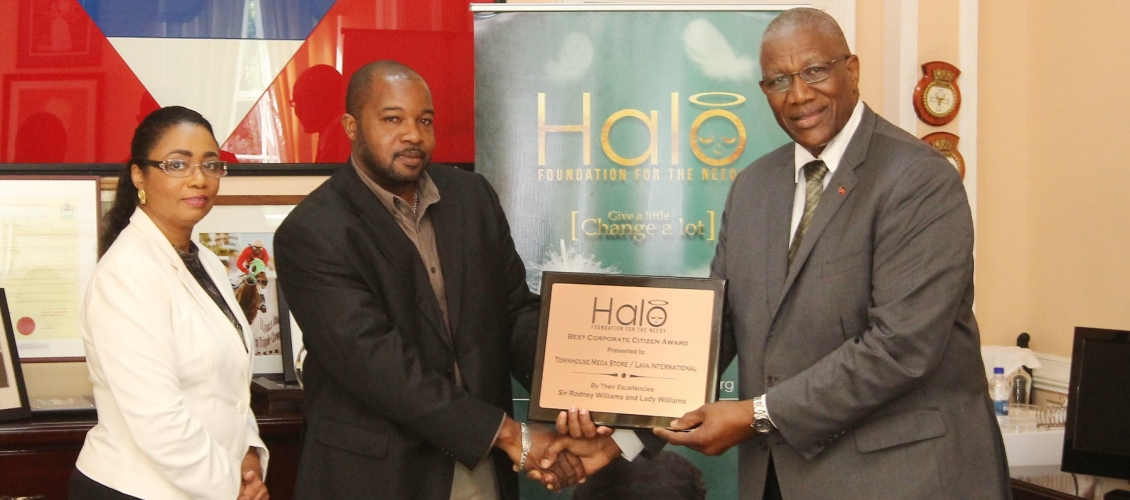 HALO AWARDS BEST CORPORATE CITIZEN 2016 TO LAVA