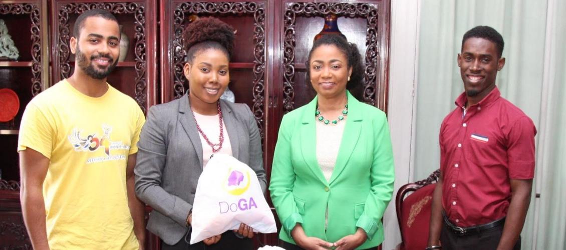 Halo donates Care Kits to DoGA