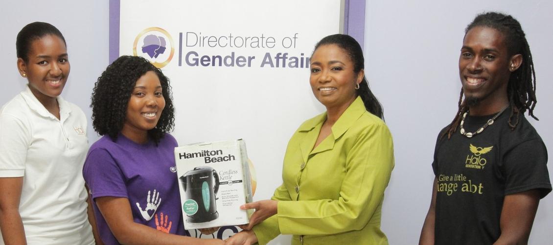 DOGA Rape and Abuse centre receives Halo Donation