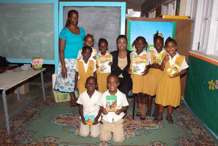 Book Donation at Willikies Primary